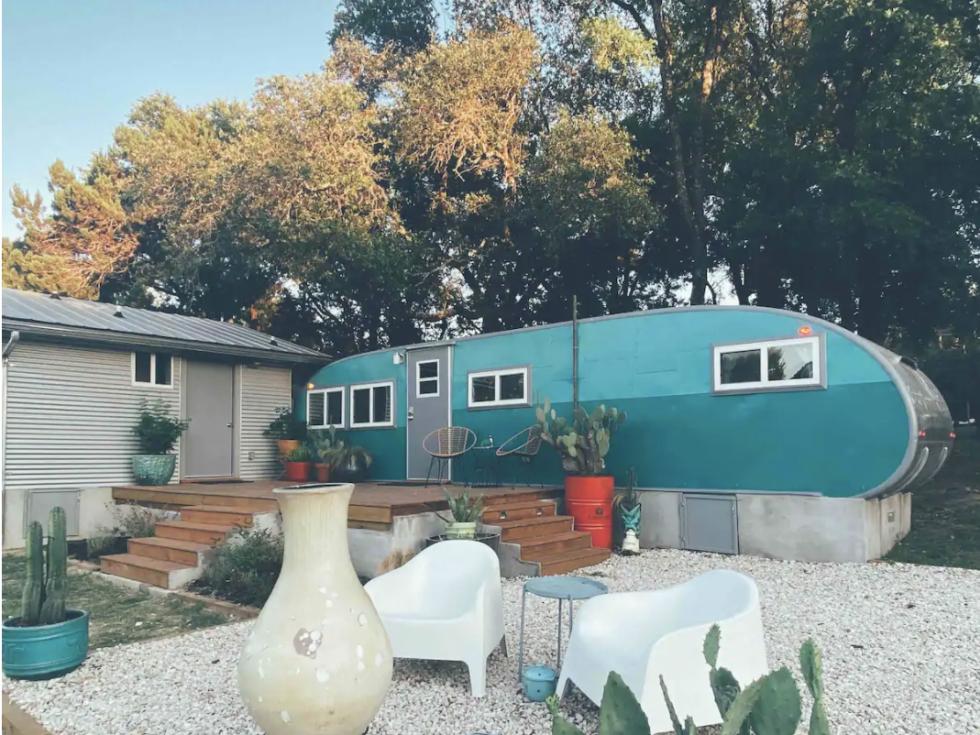 Airbnb Austin trailer