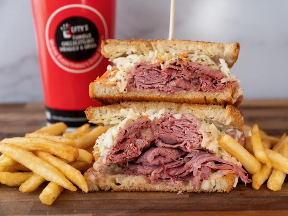 Lefty's Cheesesteaks reuben sandwich