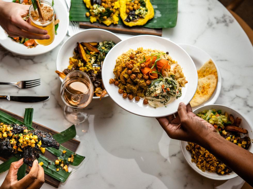 Ate Kitchen spread