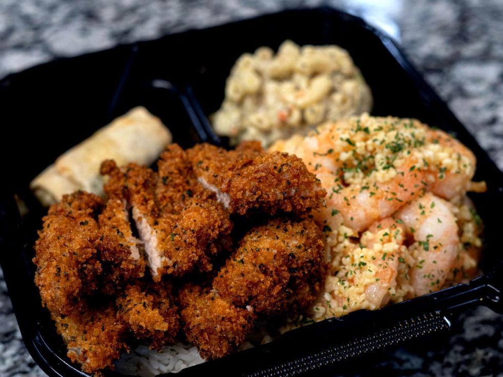 Aloha Chicken & Shrimp