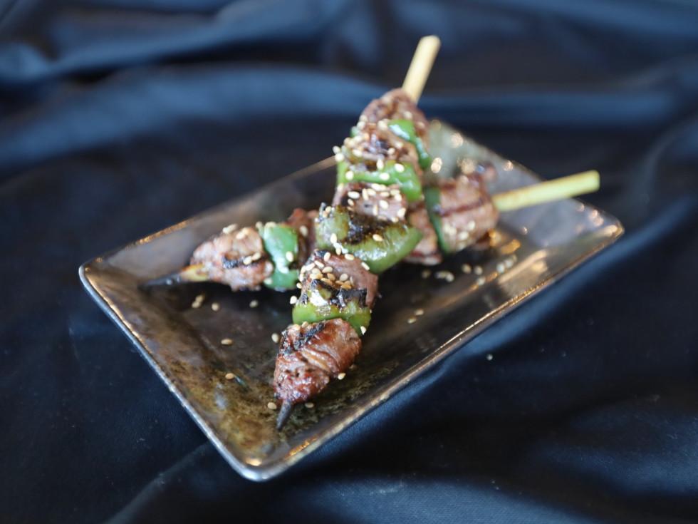 Kanau Sushi beef yakitori