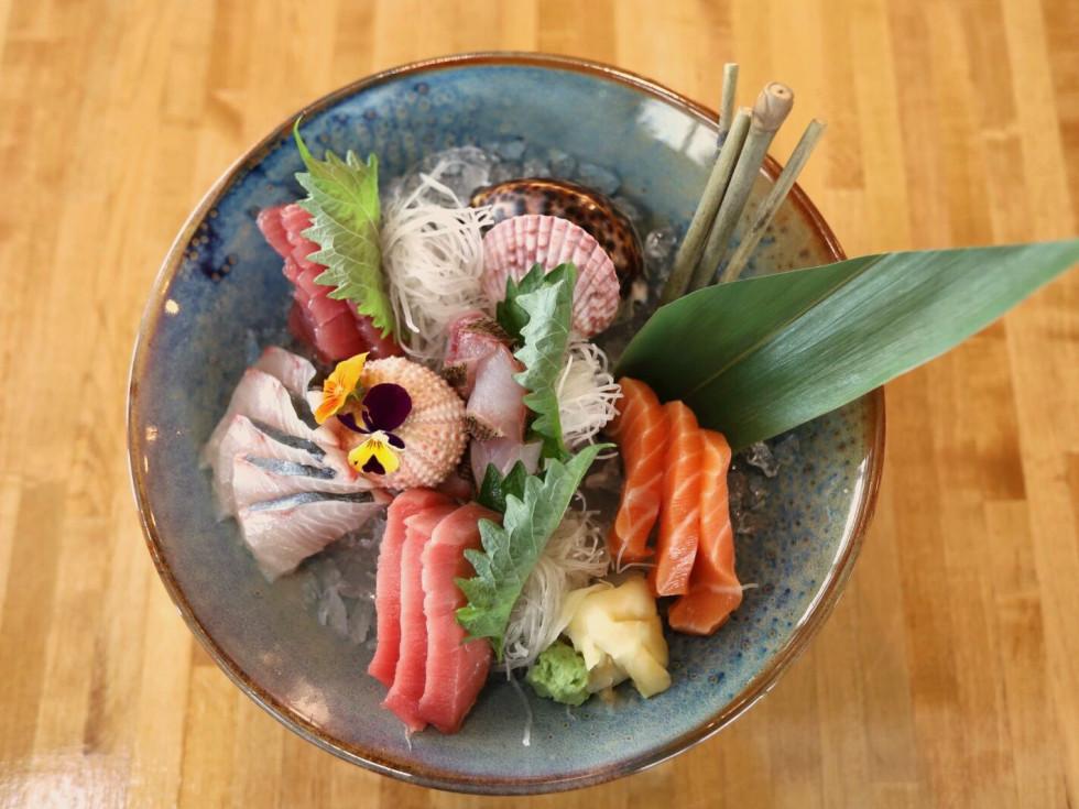 Kanau Sushi chef's sashimi
