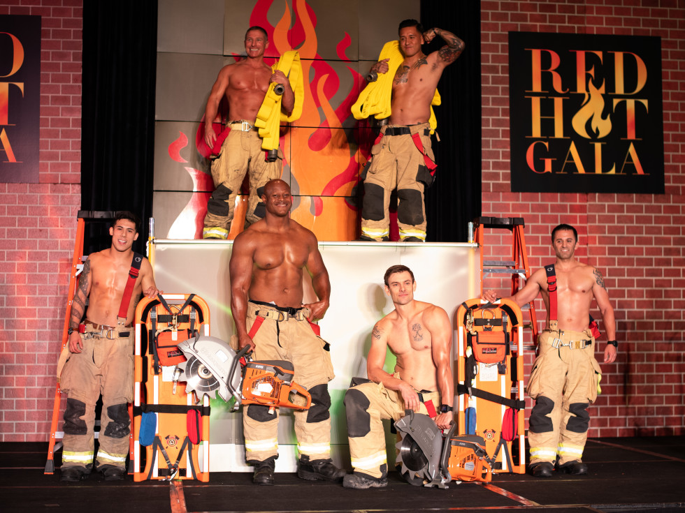 Red Hot Gala 2020 Houston firefighters