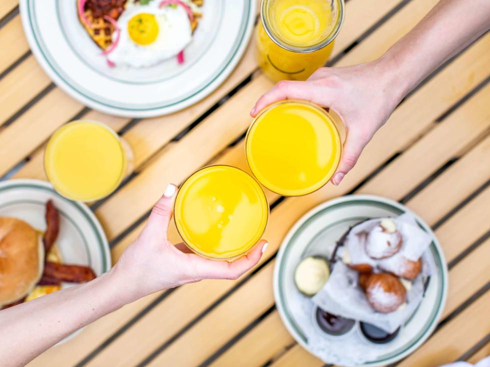 BB Lemon brunch hangover orange juice