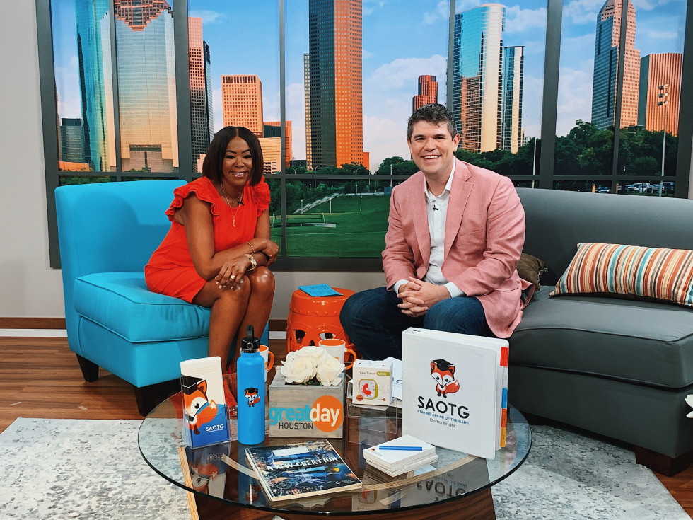 Evan Weinberger on Great Day Houston