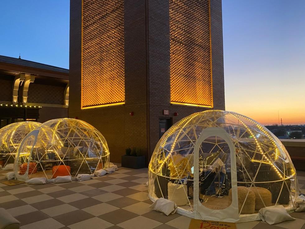 Hotel Vin igloo bubble