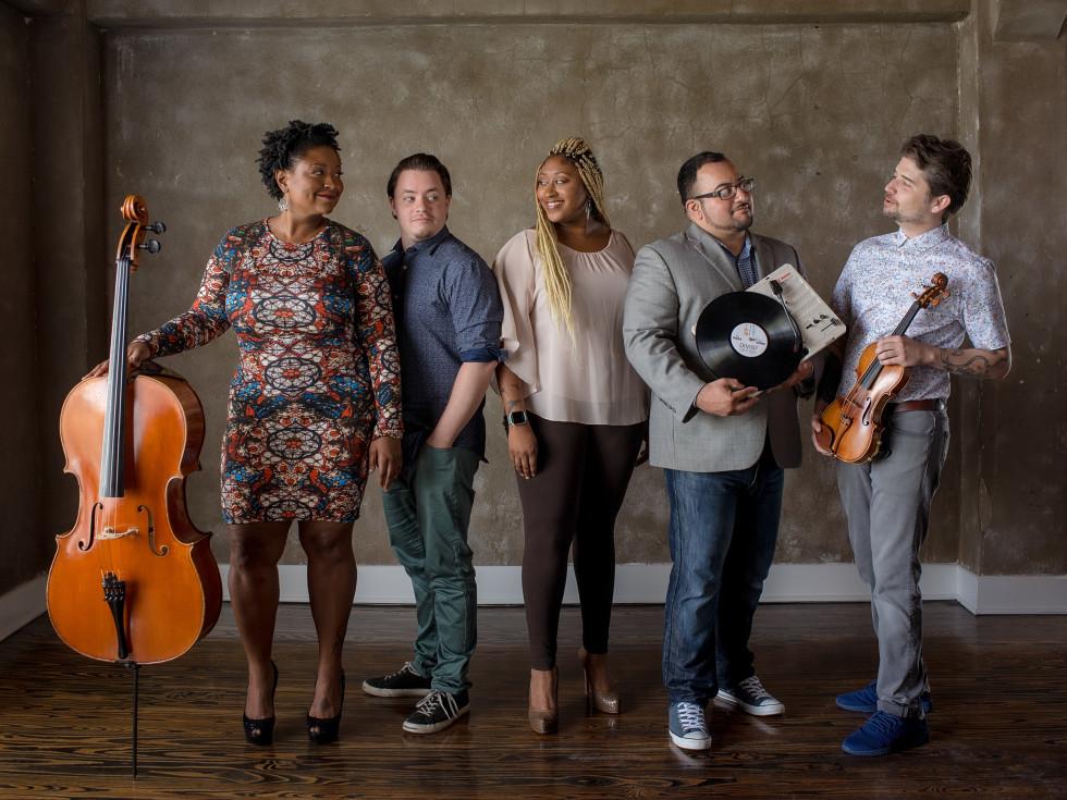 DIVISI presents Amp'd Quartet