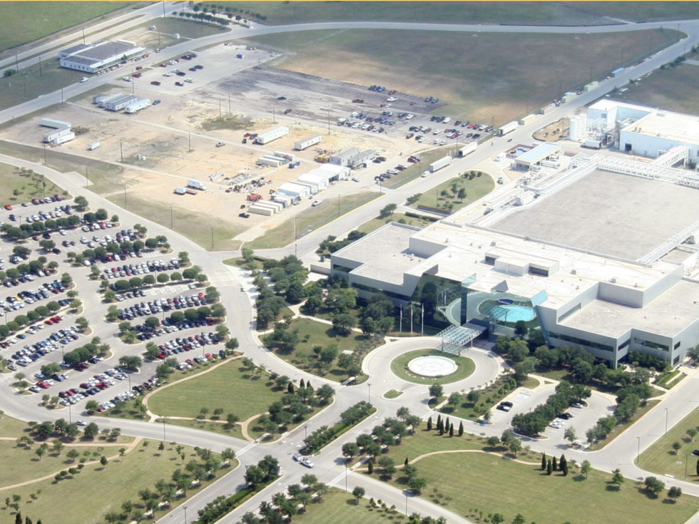 Samsung factory plant Northeast Austin