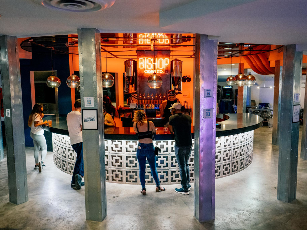 Bishop Cidercade bar