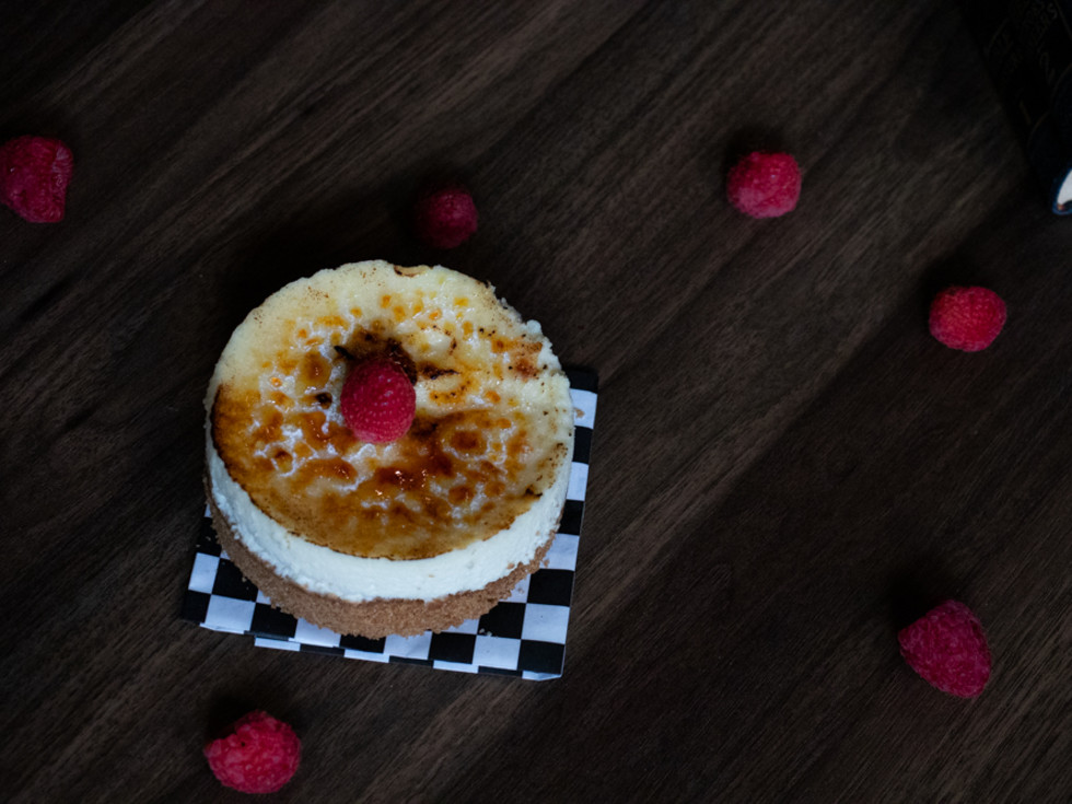Day 6 Coffee Co creme brulee cheesecake
