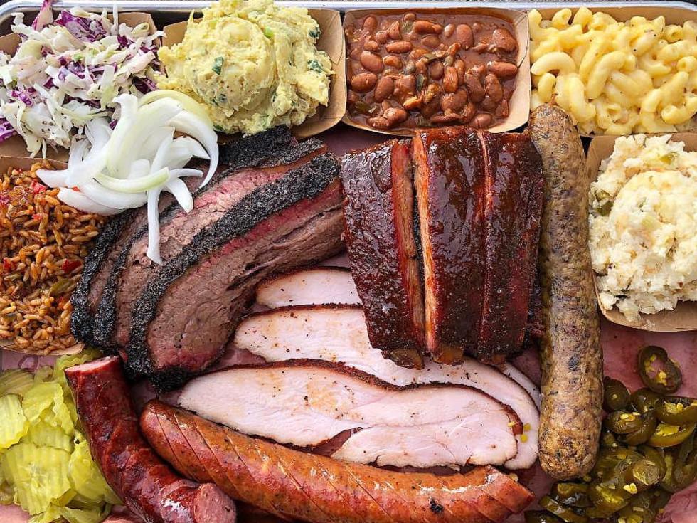 Pinkerton's Barbecue overhead