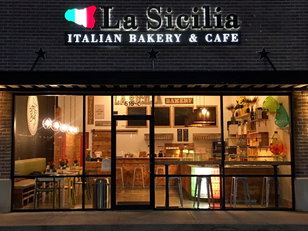 La Sicilia Bakery exterior