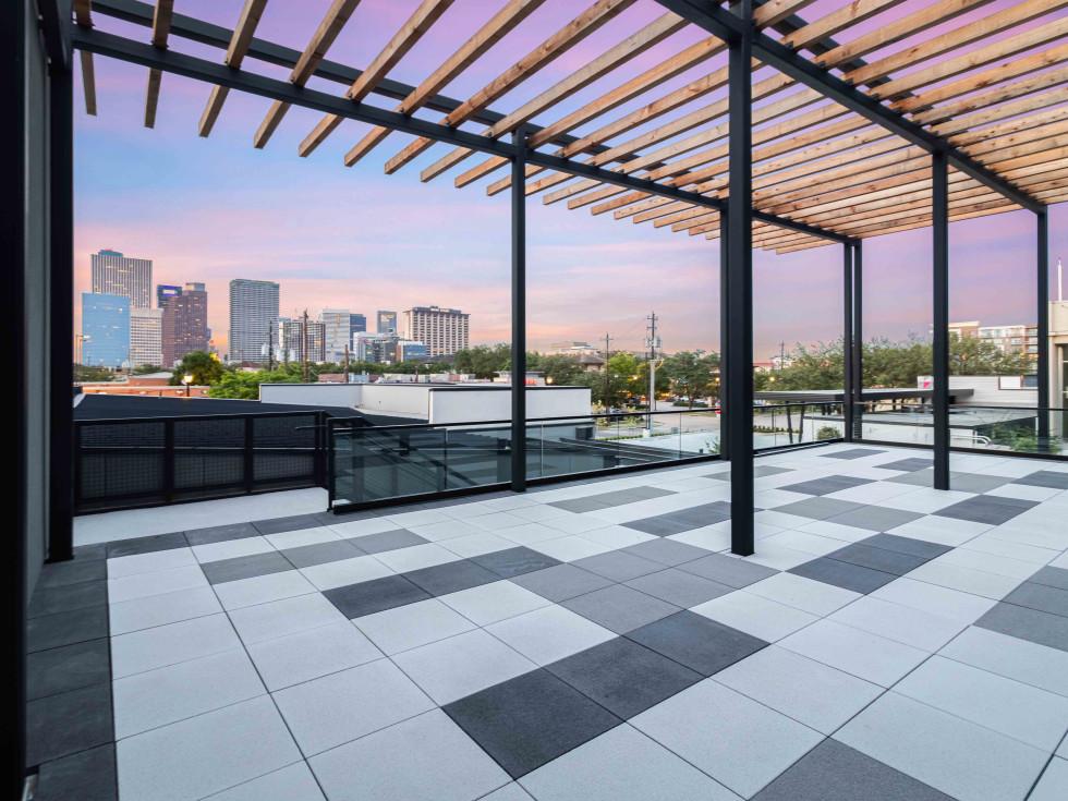 Conservatory Midtown rooftop deck