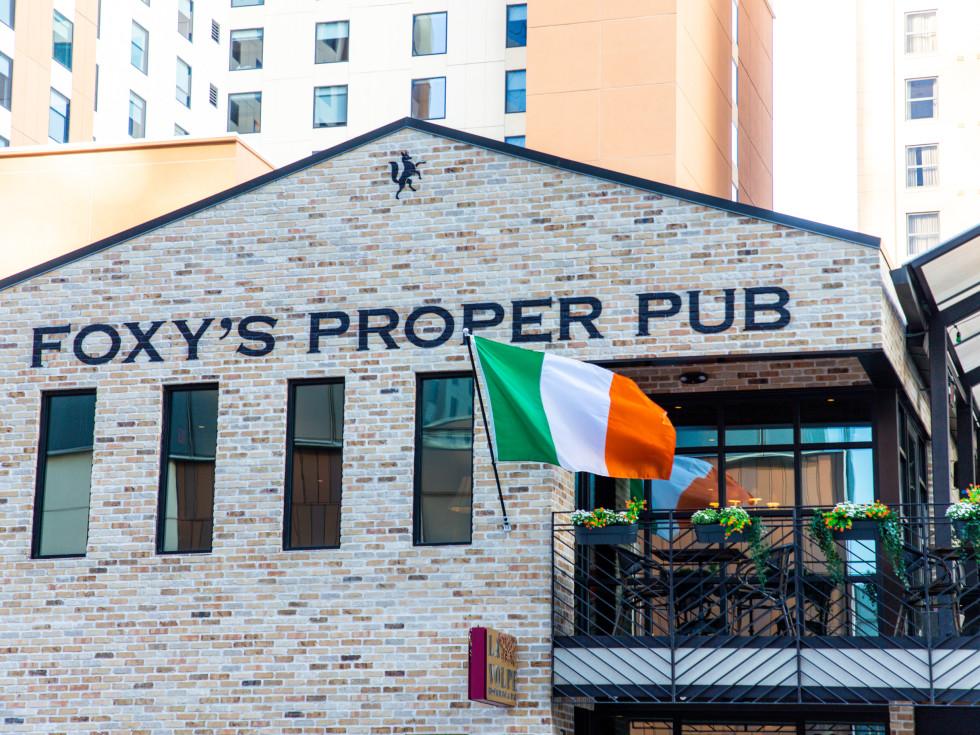 Foxy's Proper Pub exterior