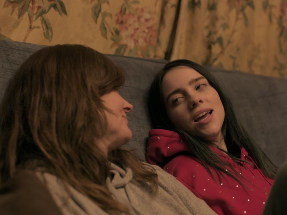 Maggie Baird and Billie Eilish in Billie Eilish: The World's a Little Blurry