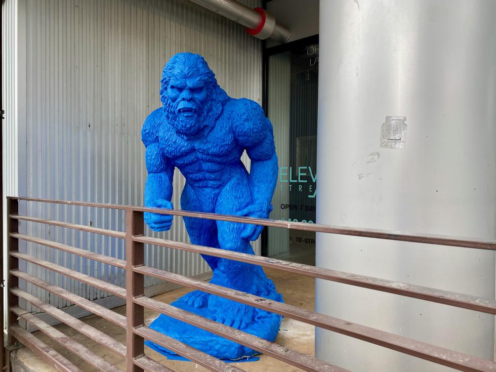 FAO Midtown bar blue bigfoot