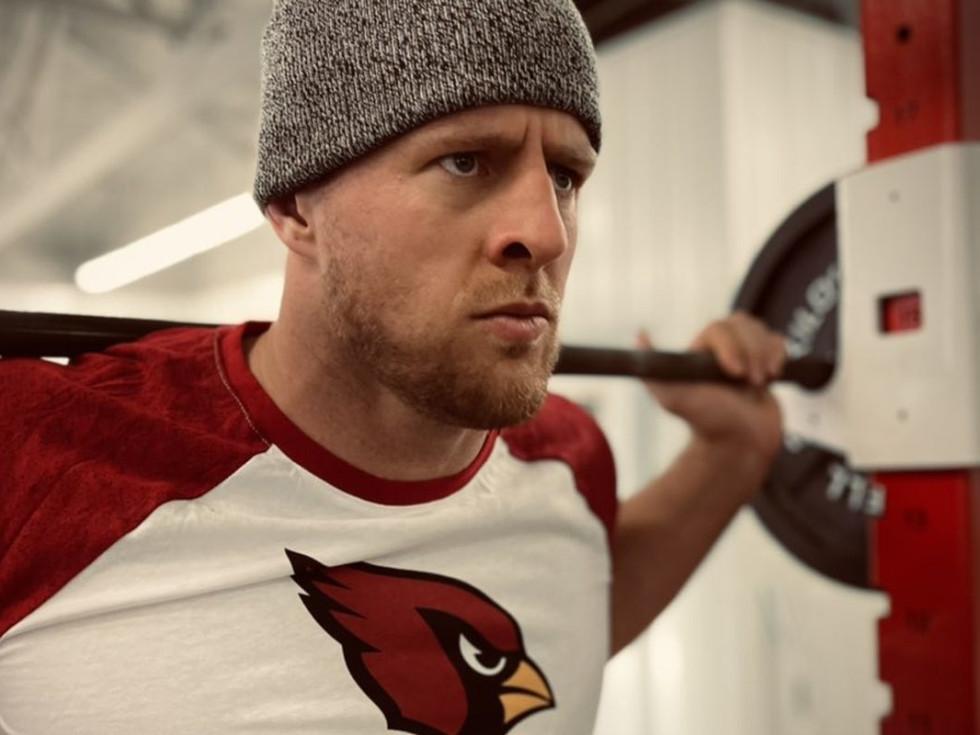 J.J. Watt Arizona Cardinals Twitter