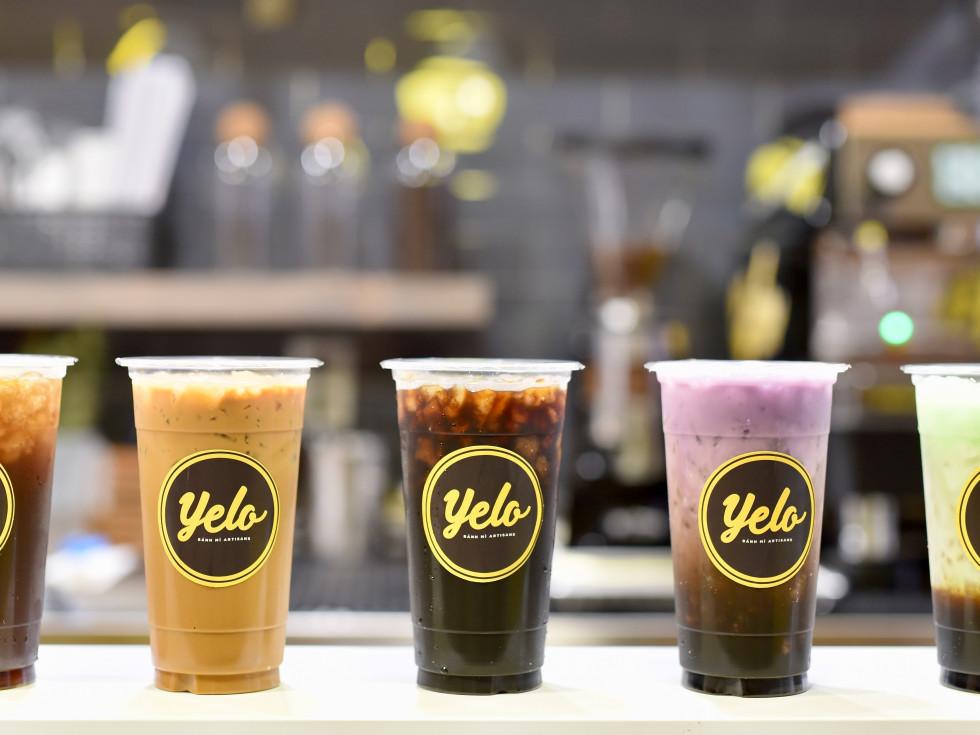 Yelo coffee drinks
