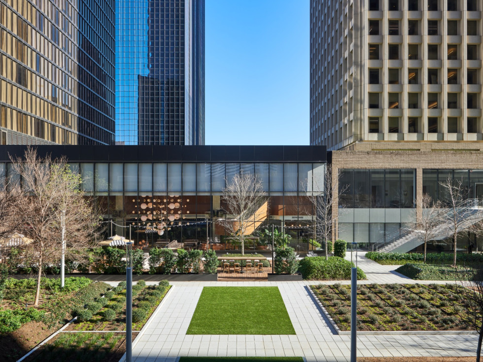 Allen Center Courtyard