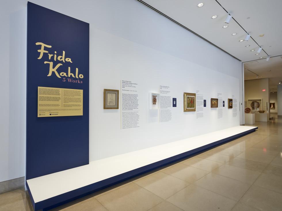 """""""Frida Kahlo: Five Works"""" at DMA"""