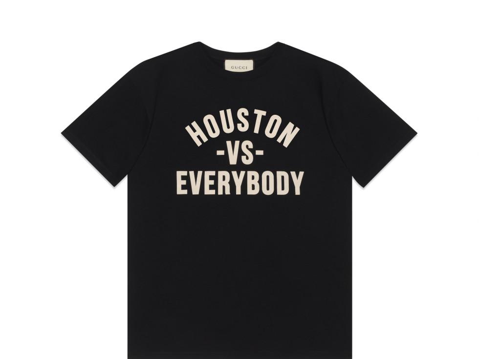 Gucci shirt Houston vs Everybody
