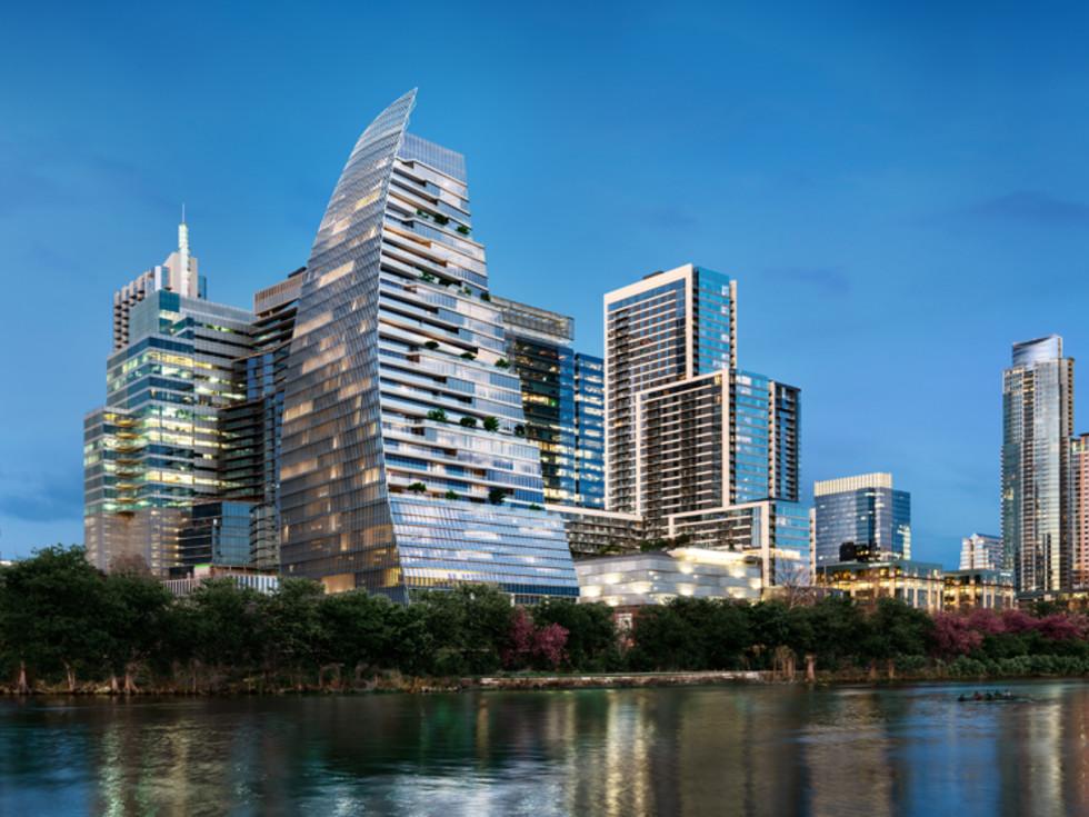 Google Sailboat Building downtown Austin