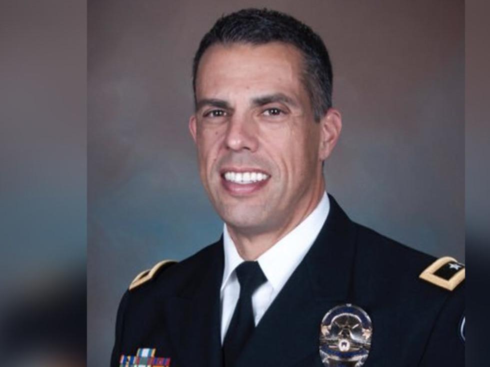 Austin interim police chief Joseph Chacon