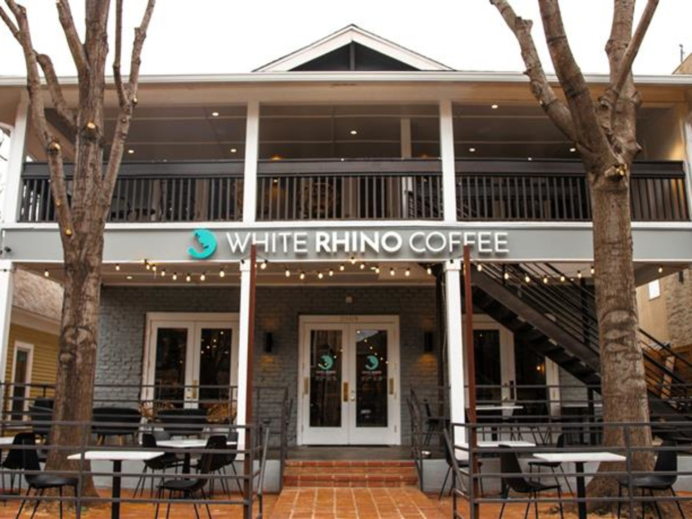White Rhino Coffee Uptown Dallas