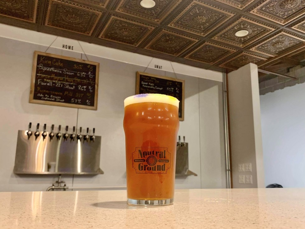Neutral Ground Brewing king cake beer