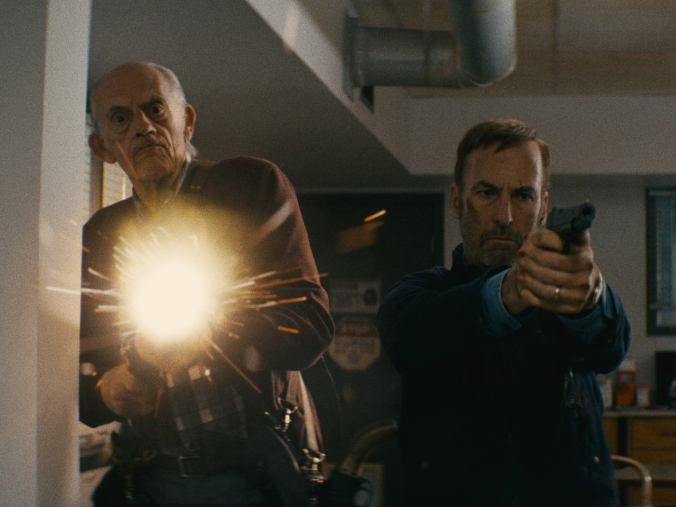 Christopher Lloyd and Bob Odenkirk in Nobody