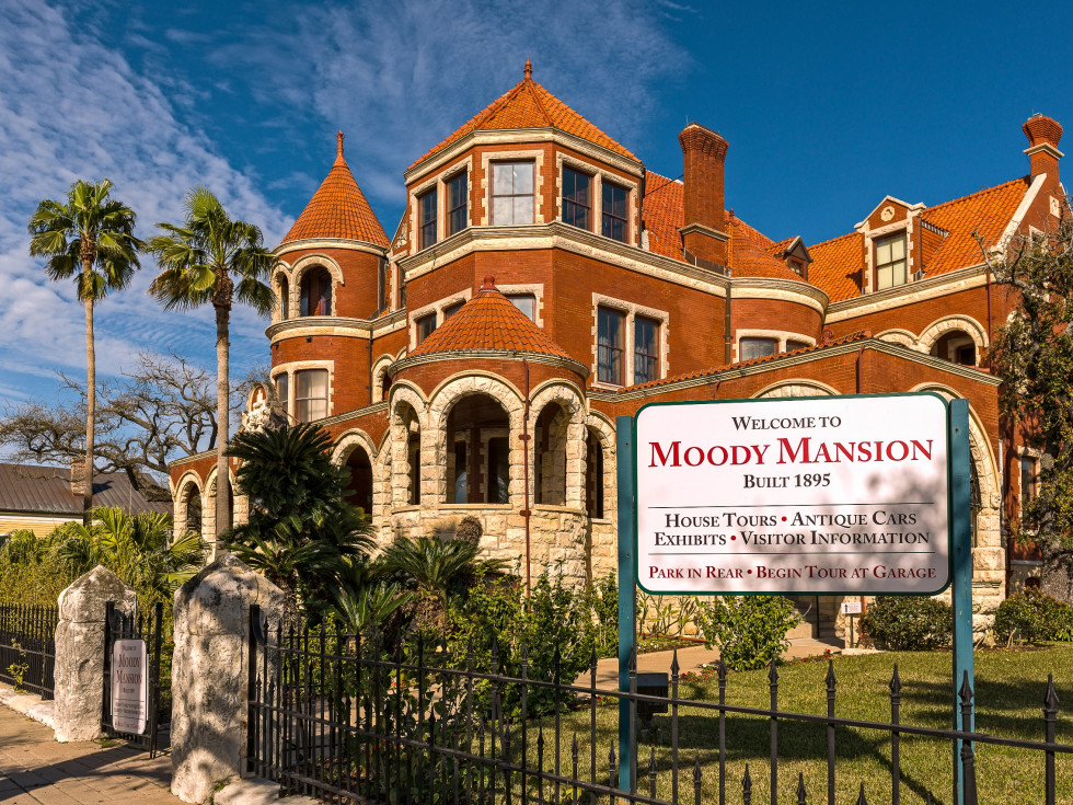 Moody Mansion exterior
