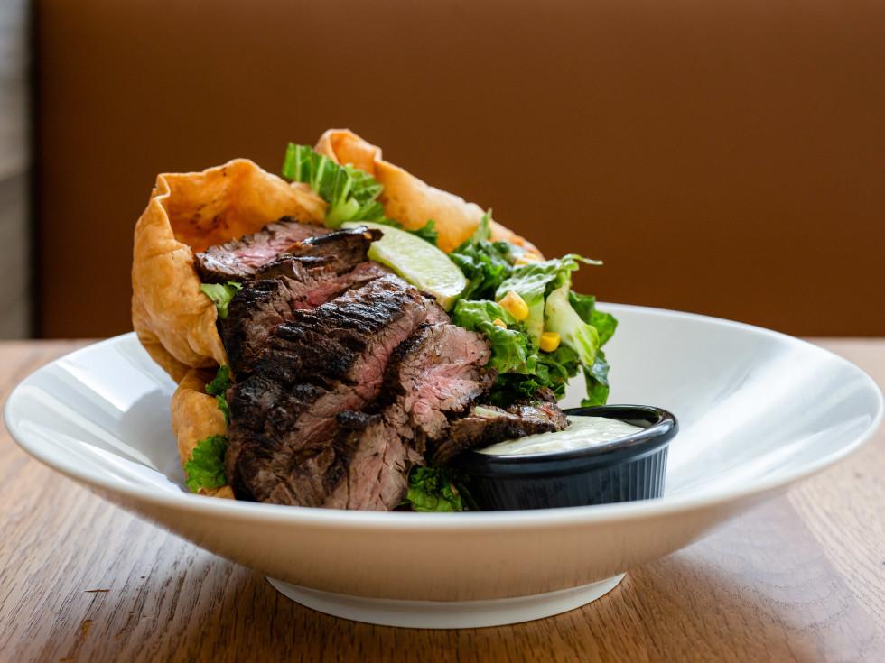 Fusion Eats steak salad
