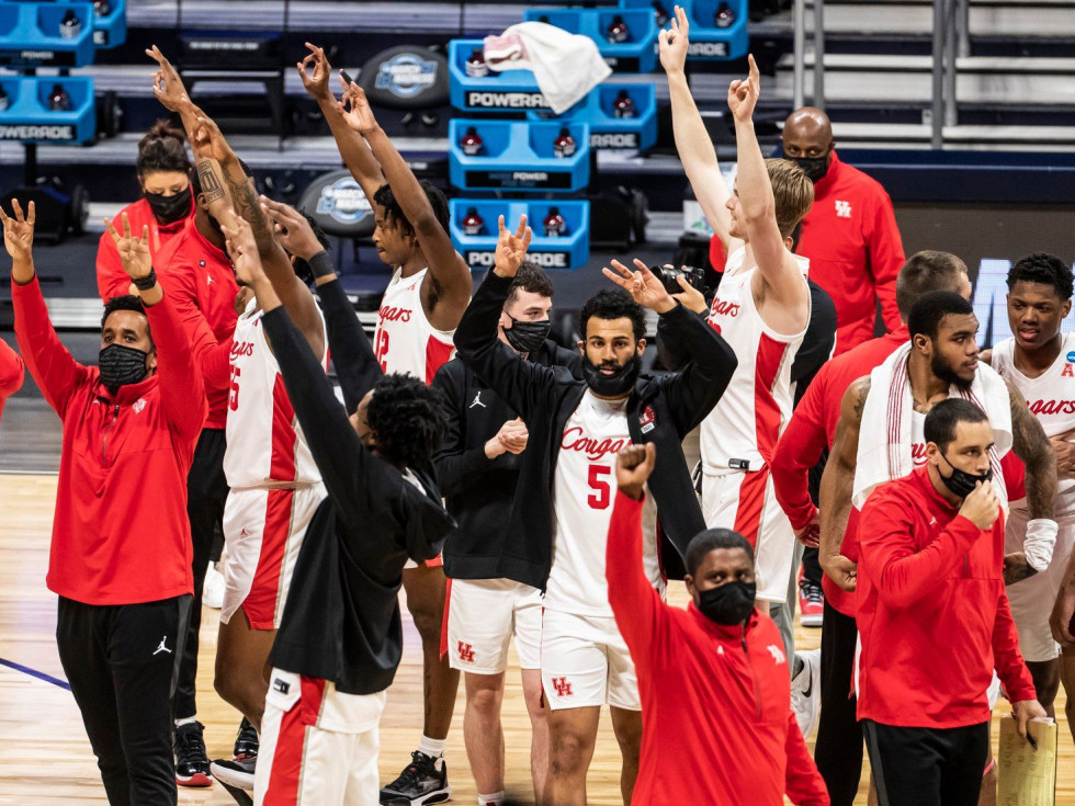 university of houston cougars basketball mens elite eight