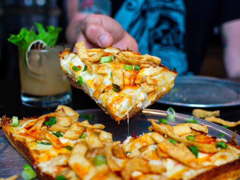Via 313 Rangoon pizza Austin