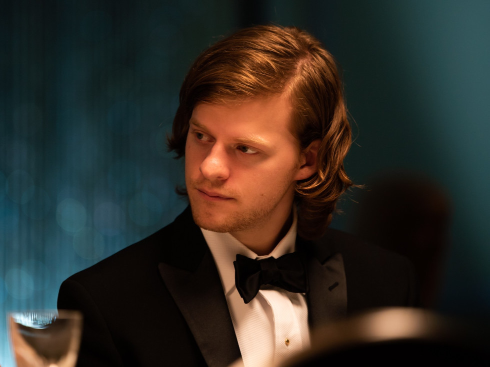 Lucas Hedges in French Exit