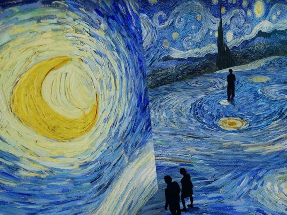 Van Gogh Starry Night Austin