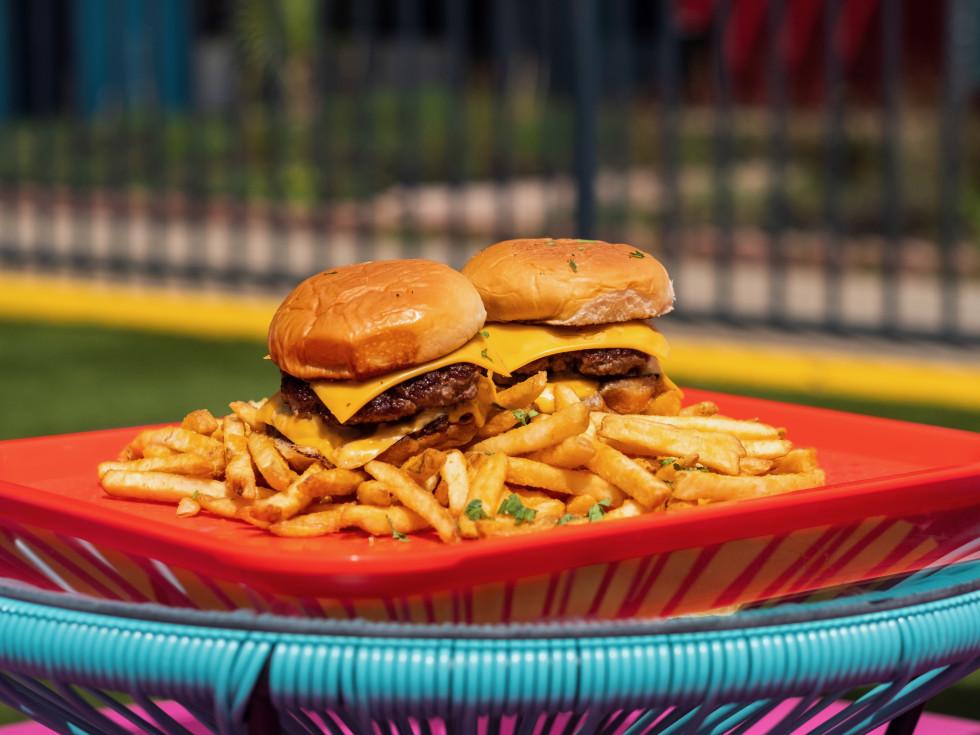 Space Cowboy boom boom burger