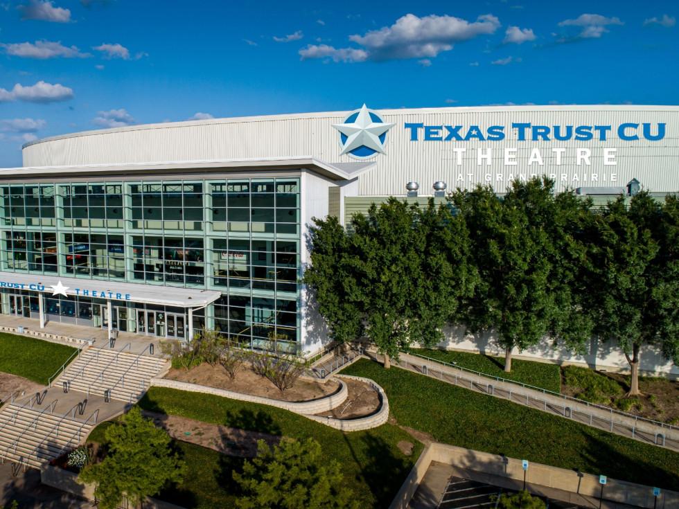 Texas Trust CU Theatre at Grand Prairie rendering