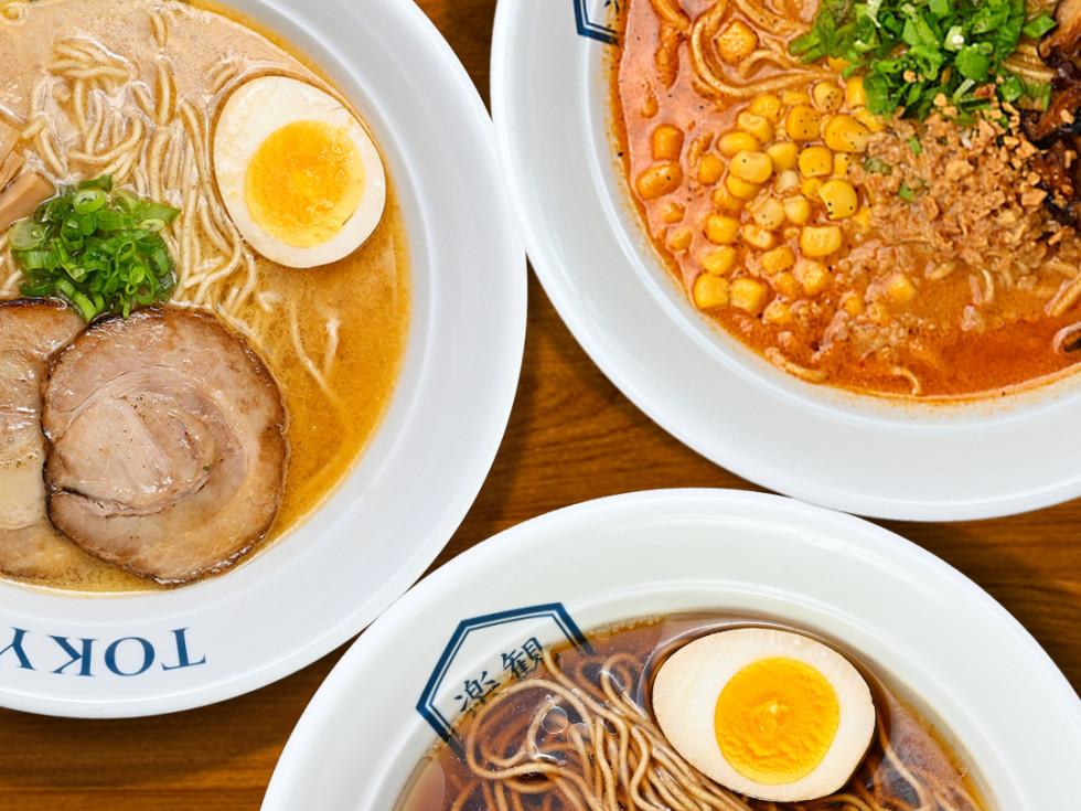Rakkan ramen soup bowls