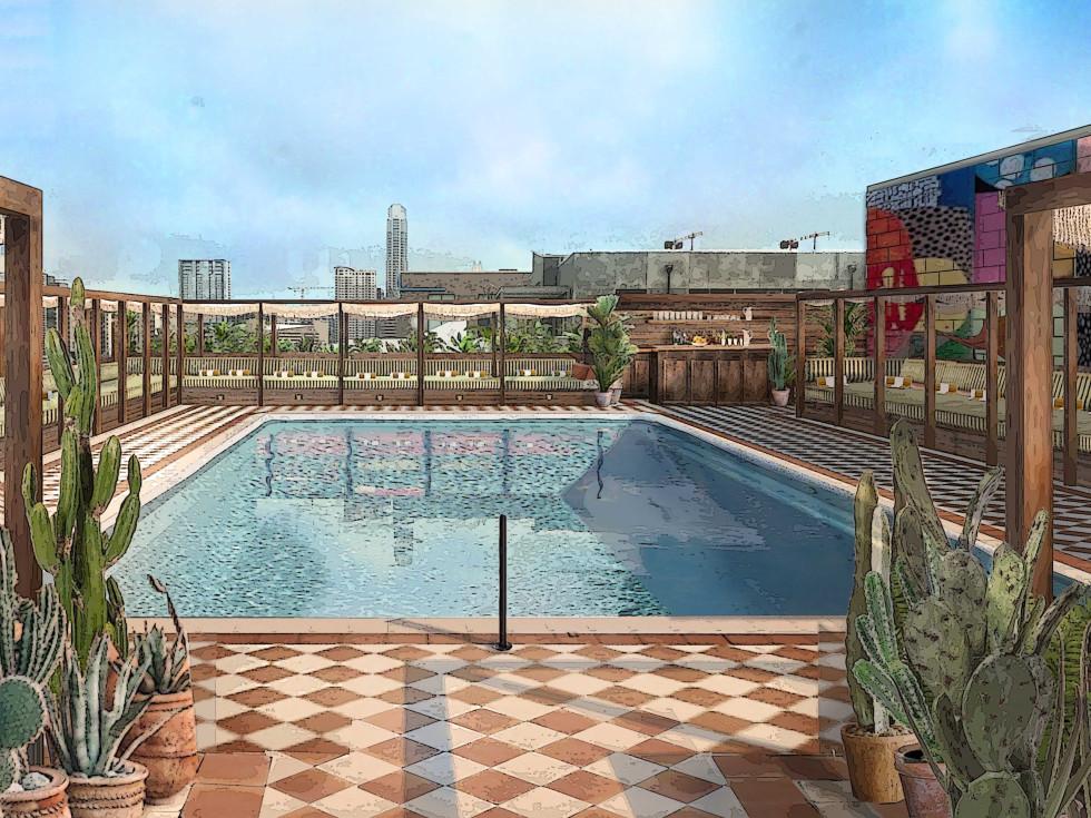 Soho House Austin pool