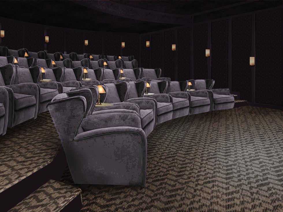 Soho House Austin cinema