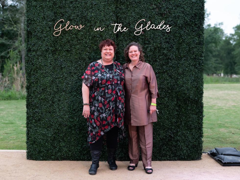 Memorial Park Conservancy Urban Wild Glow in the Glades 2021 Tina Sabuco Shellye Arnold