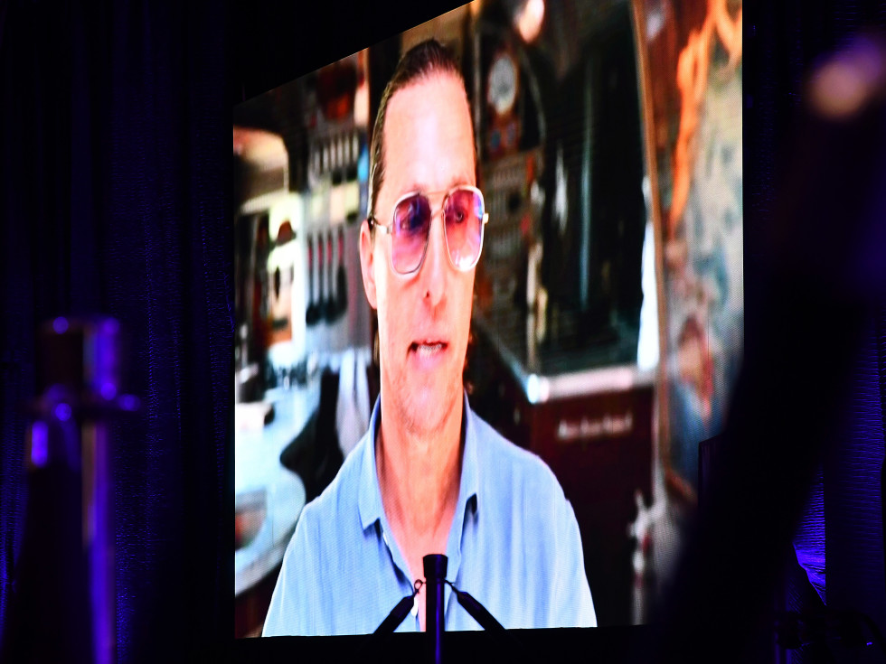 A Celebration of Reading Bush 2021 Matthew McConaughey