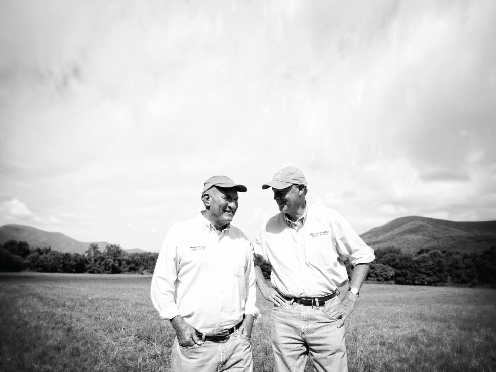 Bold Rock founders, John Washburn and Brian Shanks