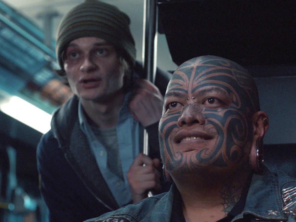Charlie Tahan and Pineapple Tangaroa in Drunk Bus