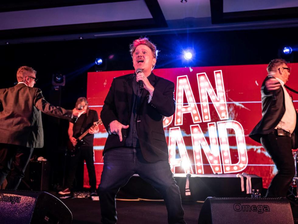 Hallam wedding, Dan Band