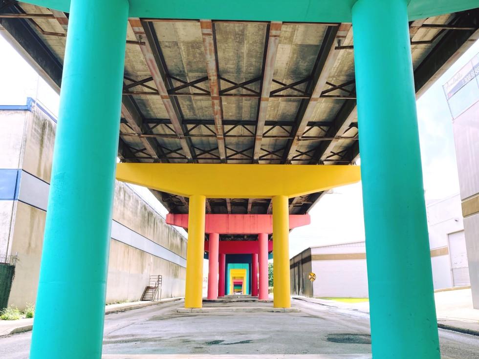 Zona Cultural District bridges