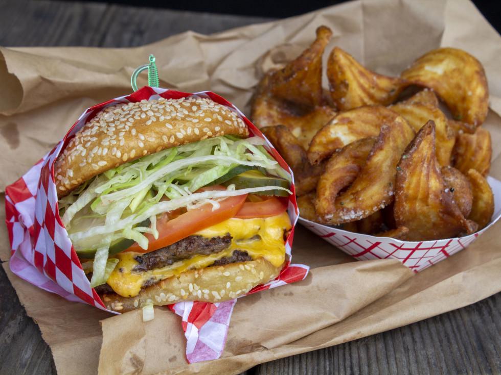 Underbelly Burger Houston Farmers Market