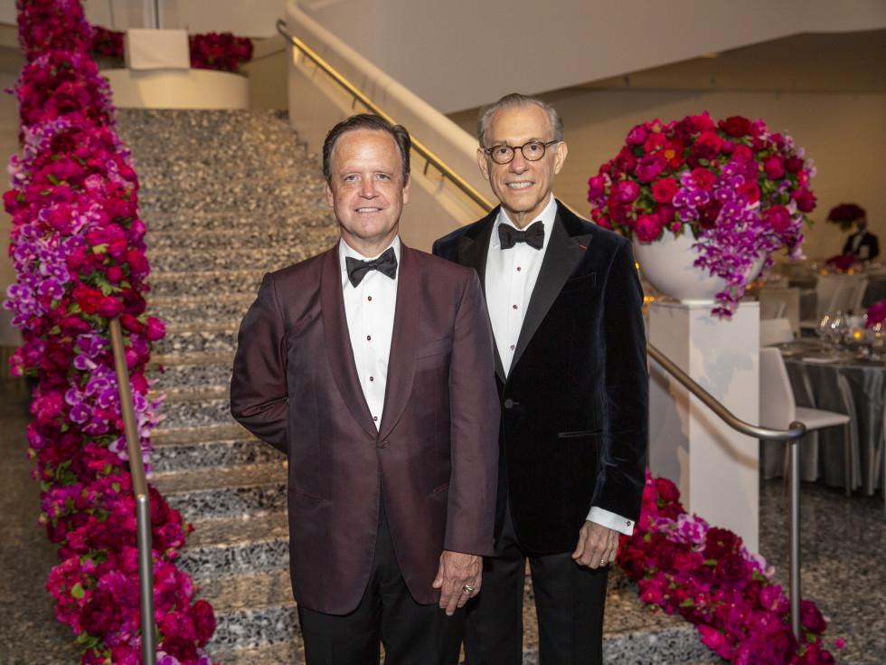 MFAH Grand Gala Ball 2021 Christopher Gardner; Gary Tinterow