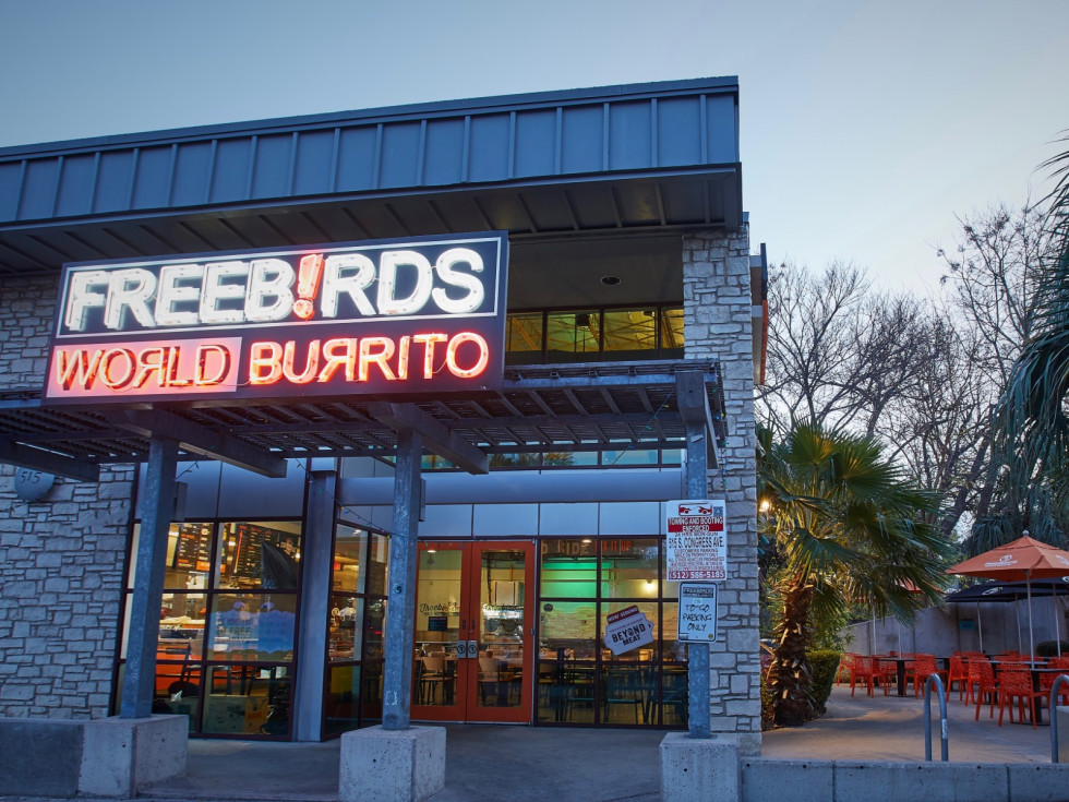 Freebirds South Congress location Austin